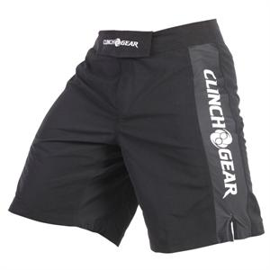 Clinch Gear Pro Series Shorts - Black/Black/White